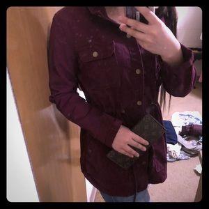 Arizona jean co Wine color jacket